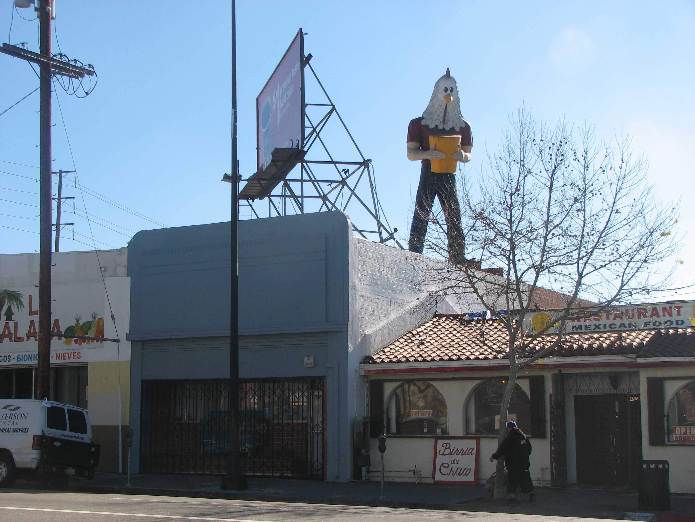 Statue of Chicken Boy